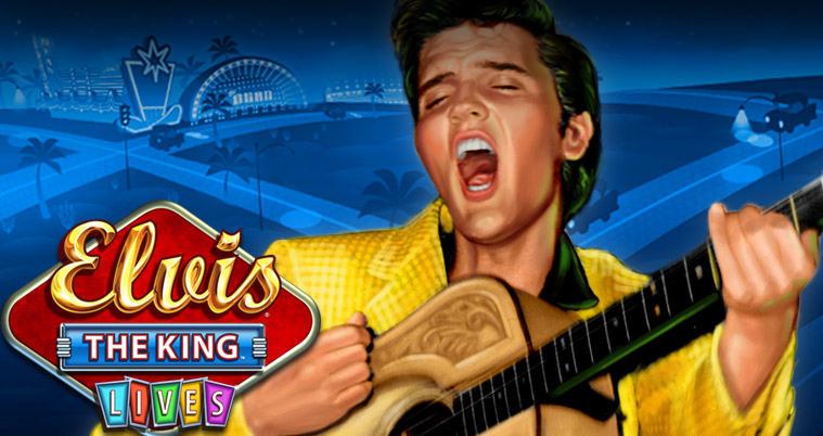 Elvis The King Lives slot - Spela det här casinospelet gratis